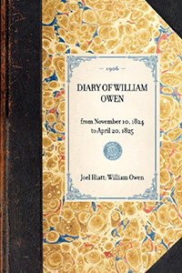 Diary of William Owen from November 10, 1824 to April 20, 1825