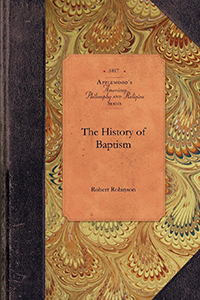 The History of Baptism