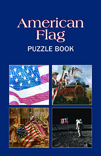 American Flag Puzzle Book