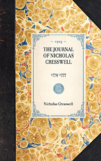 The Journal of Nicholas Cresswell, 1774-1777