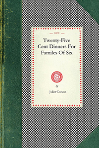 Twenty-Five Cent Dinners For Familes Of Six