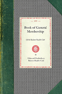Book Of General Membership Of the Ralston Health Club