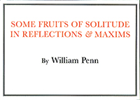 Some Fruits of Solitude