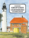 Great Lakes Lighthouse Coloring Book