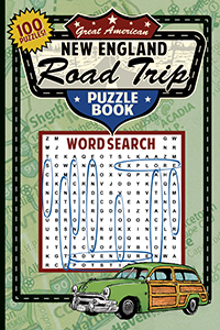 Great American New England Road Trip Puzzle Book